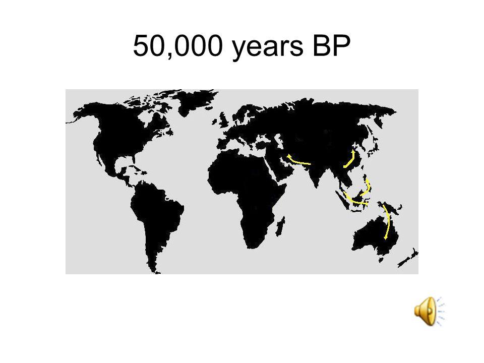 50,000 years BP