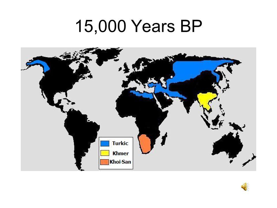 15,000 Years BP