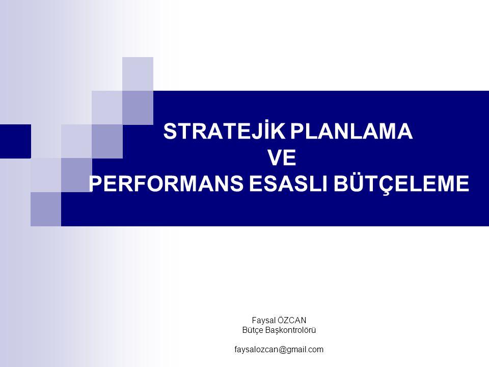 KAMU İDARELERİNDE STRATEJİK PLANLAMAYA İLİŞKİN USUL VE ESASLAR HAKKINDA YÖNETMELİK Stratejik planların süresi, güncelleştirilmesi ve yenilenmesi MADDE 7 – Stratejik planlar beş yıllık dönemi kapsar.