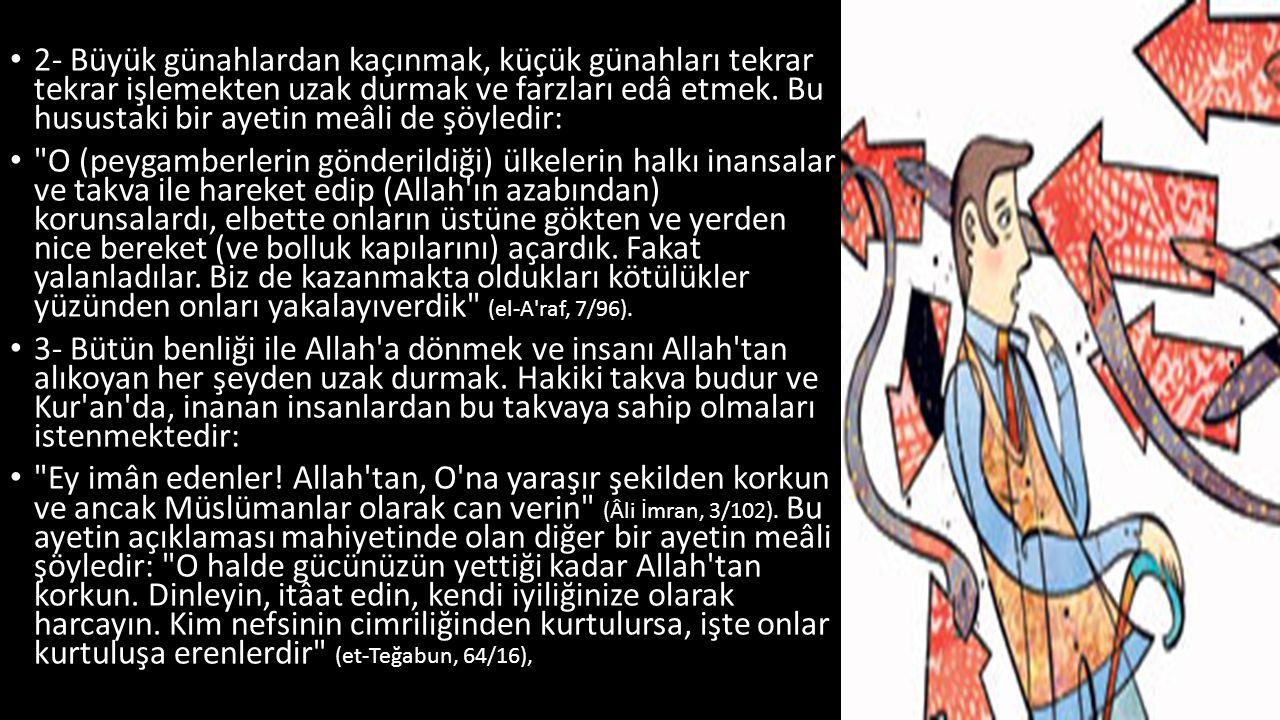 Kur an, âlemlerin Rabbi Allah ı bütün sıfatlarıyla, O na âit en üstün yücelik ve makamlar ile tanıtıyor.