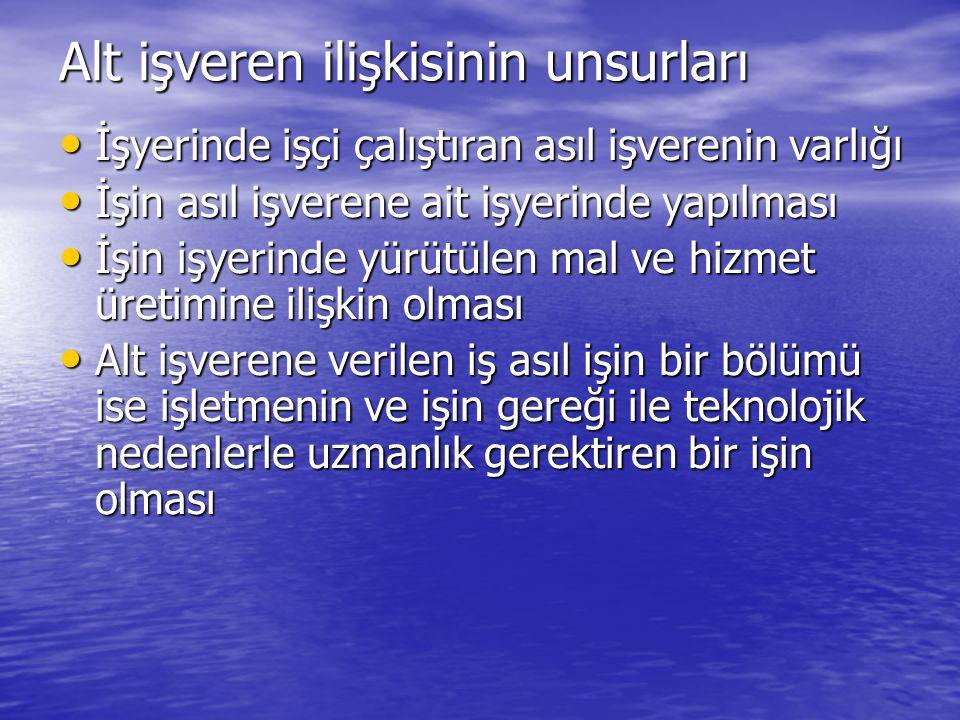 İdari para cezası: İşyerini muvazaalı olarak bildiren asıl işveren ile alt işveren veya vekillerine ayrı ayrı on bin yeni Türk Lirası idari para cezası verilir.