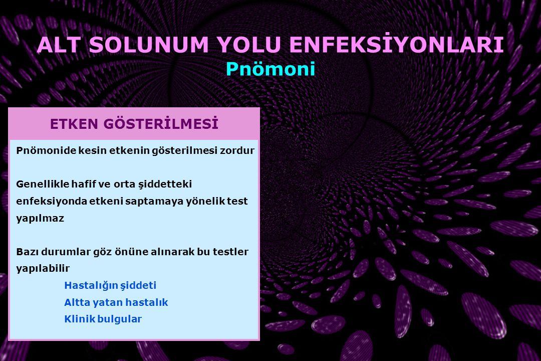 Streptococcus pneumoniae BK : 20 900/mm 3 ESH : 110 mm/saat CRP : 27.4 mg/dL BK : 20 300/mm 3 ESH : 124 mm/saat CRP : 32.4 mg/dL AÜTF Çocuk Enfeksiyon