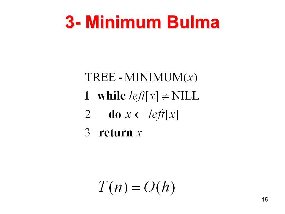 15 3- Minimum Bulma