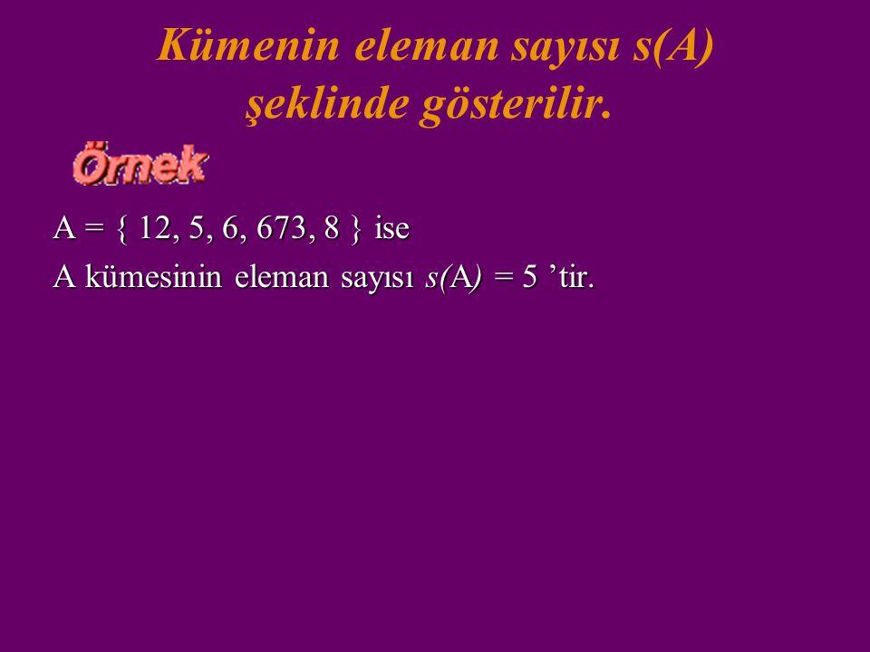 Bir kümenin içine bir eleman yalnız bir kez yazılır. Aşağıdakilerden hangisi küme belirtir? a. { 0, 1, 2, 3, 1 } b. { 2, c, 3, 4, 2 } c. { 0, 1 } d. {