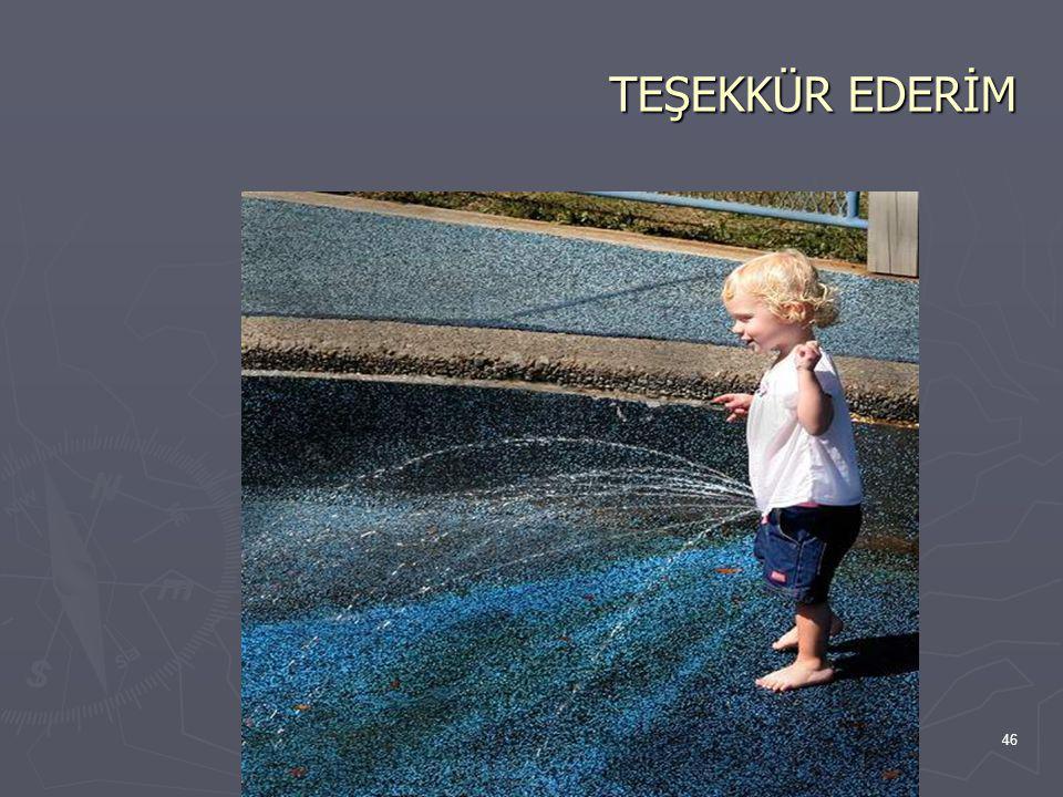 TEŞEKKÜR EDERİM 46