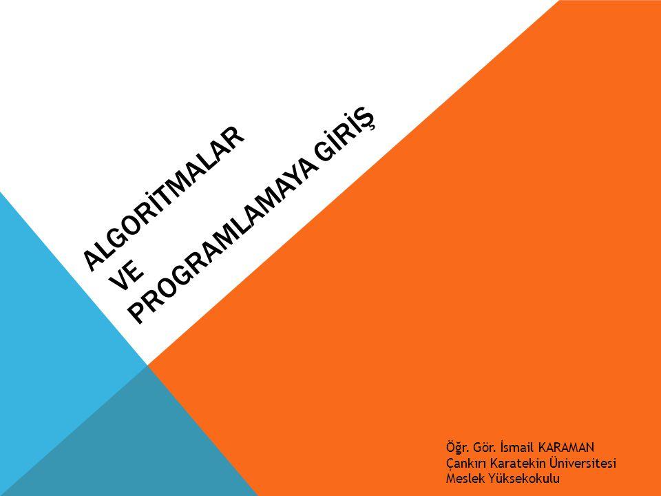 C# - DEĞİŞKENLER Örnek : Klavyeden girilen iki sayıyı toplamını, farkını, çarpımını ve bölümünü hesaplayan program.