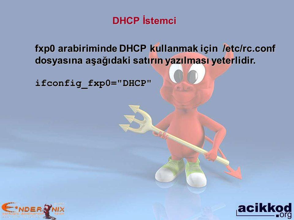 Hostname Örneğin bilgisayara istanbul.enderunix.org ismini vermek için aşağıdaki komut verilir.