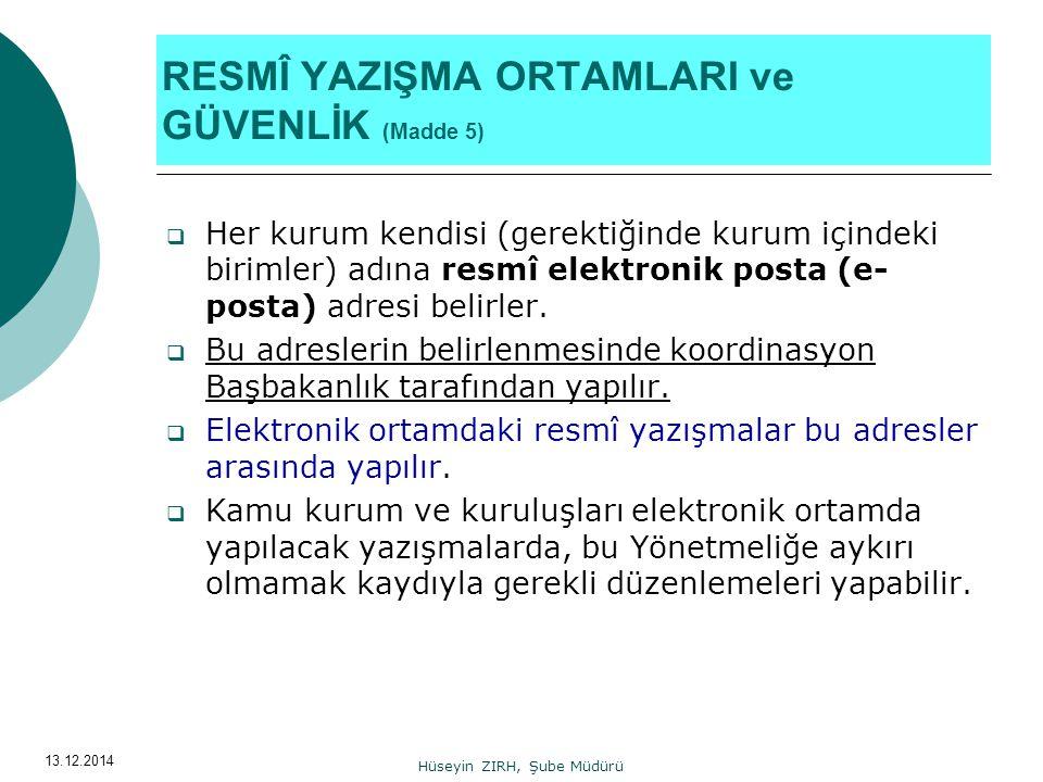 13.12.2014 İki- dört satır aralığı (İmza) Adı Soyadı Başbakan a.