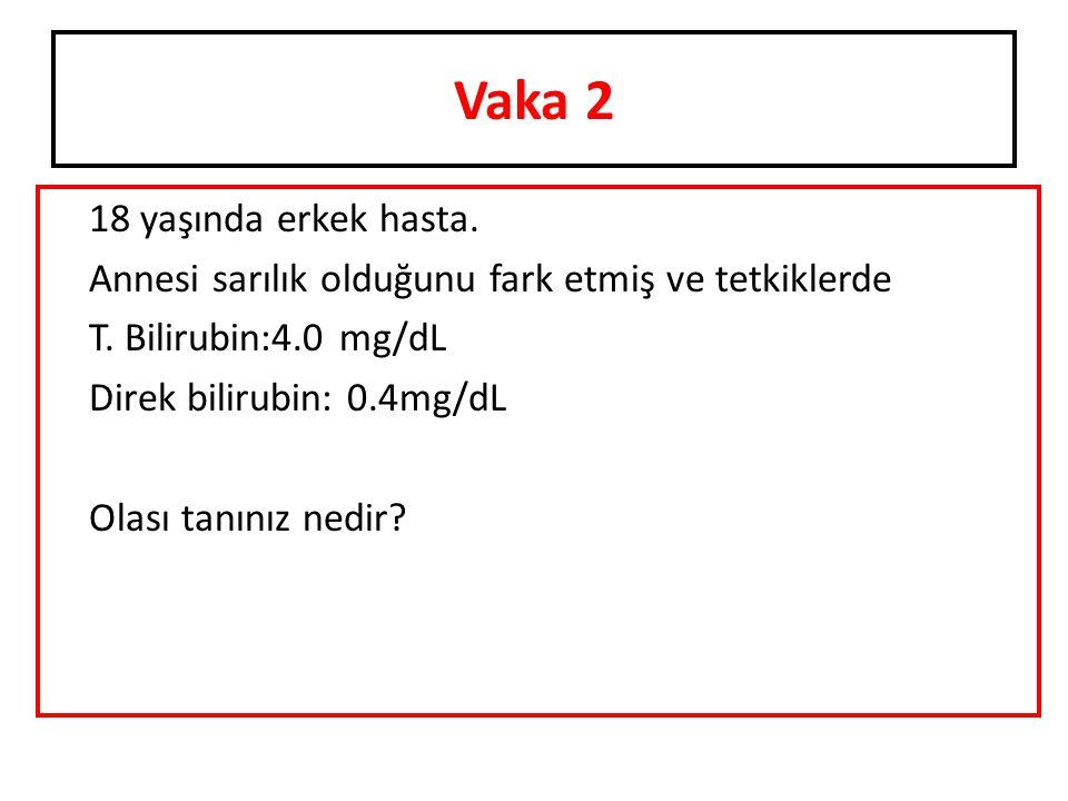 Vaka 6 AST: 120 ALT: 30 olan hastada Tanınız nedir?