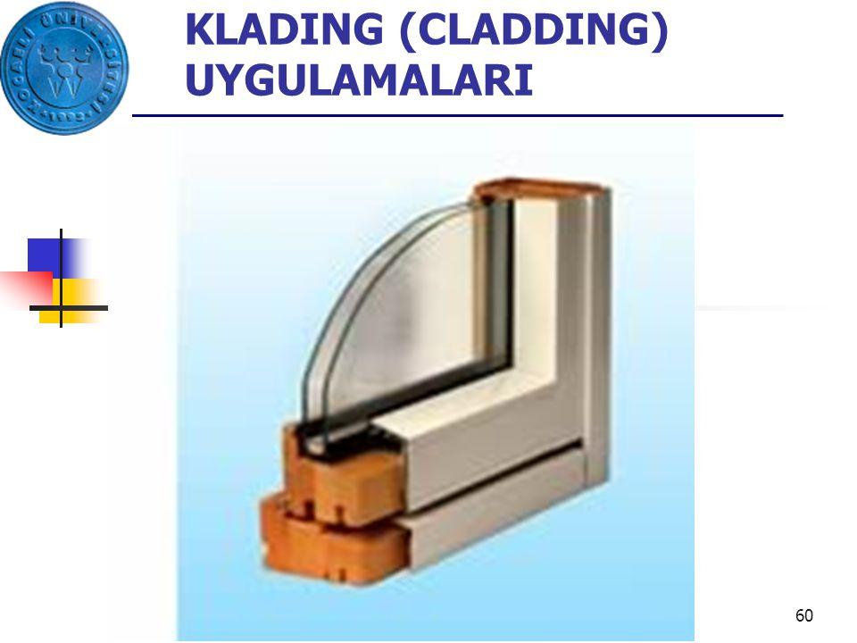 60 KLADING (CLADDING) UYGULAMALARI