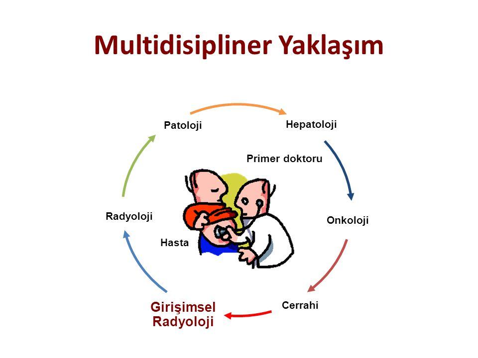Multidisipliner Yaklaşım Patoloji Hepatoloji Radyoloji Onkoloji Primer doktoru Hasta Cerrahi Girişimsel Radyoloji