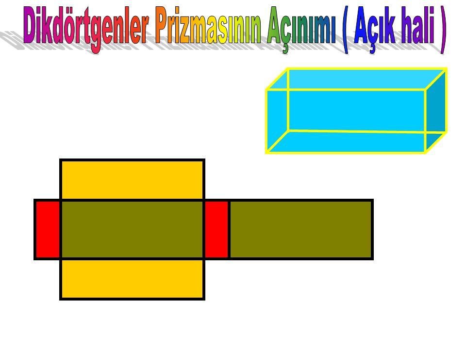 Dikdörtgenler Prizmasının temel özelliği bütün yüzeylerinin dikdörtgenlerden oluşması ve karşılıklı yüzeylerinin birbirine eş olmasıdır. Dikdörtgenler