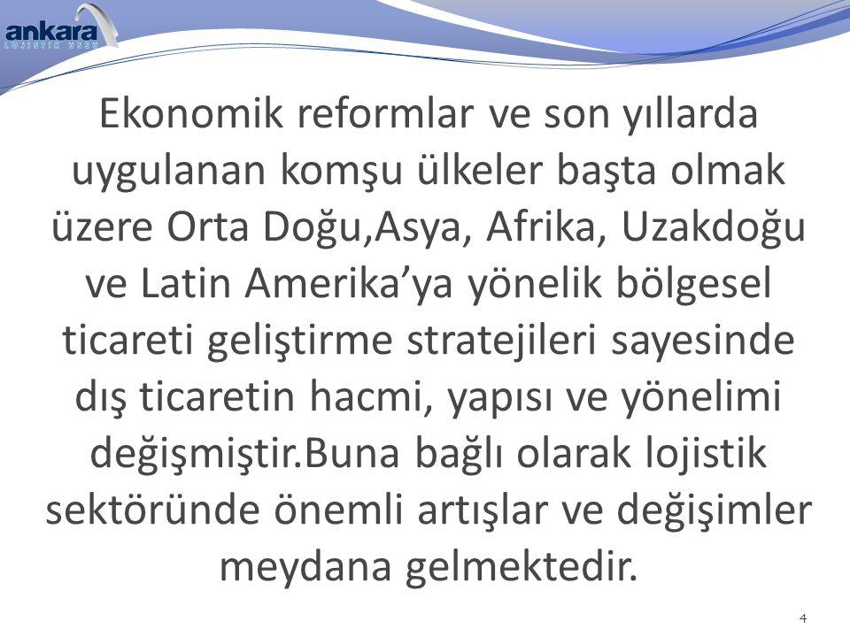 2012 yılında ise Türkiye 200'den fazla ülkeye ihracat gerçekleştirmiş ve ticaret hacmi 390 milyar $ yaklaşmış, ihracat ise rekor bir düzeye erişerek 152,6 milyar $ olarak gerçekleşmiştir.