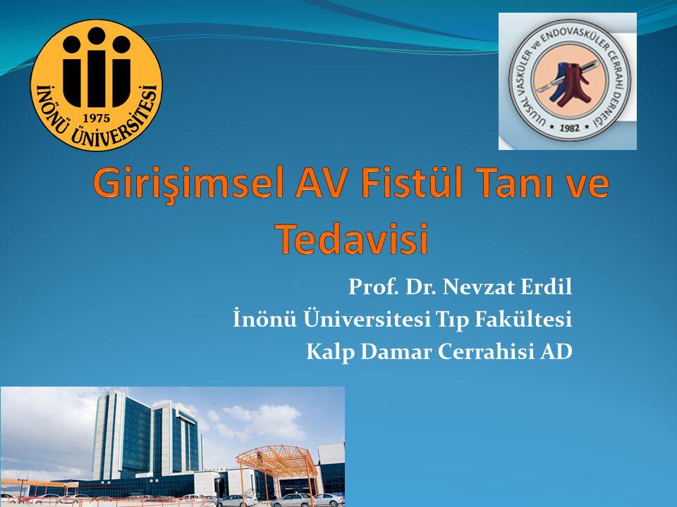 Prof. Dr. Nevzat Erdil İnönü Üniversitesi Tıp Fakültesi Kalp Damar Cerrahisi AD