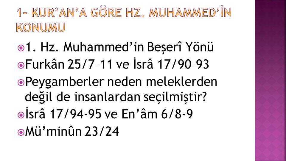  Sünnet kavramı başlangıçta yalnızca Hz.Peygambere ait olan uygulamaları ; hadis ise Hz.