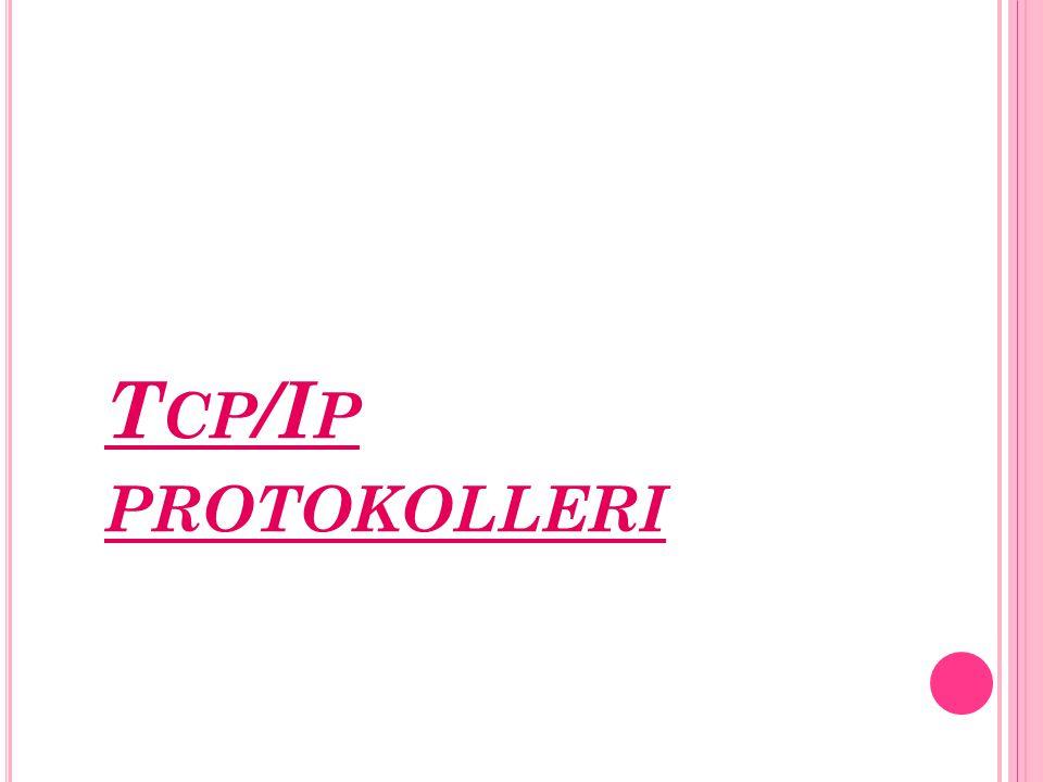 T CP /I P PROTOKOLLERI