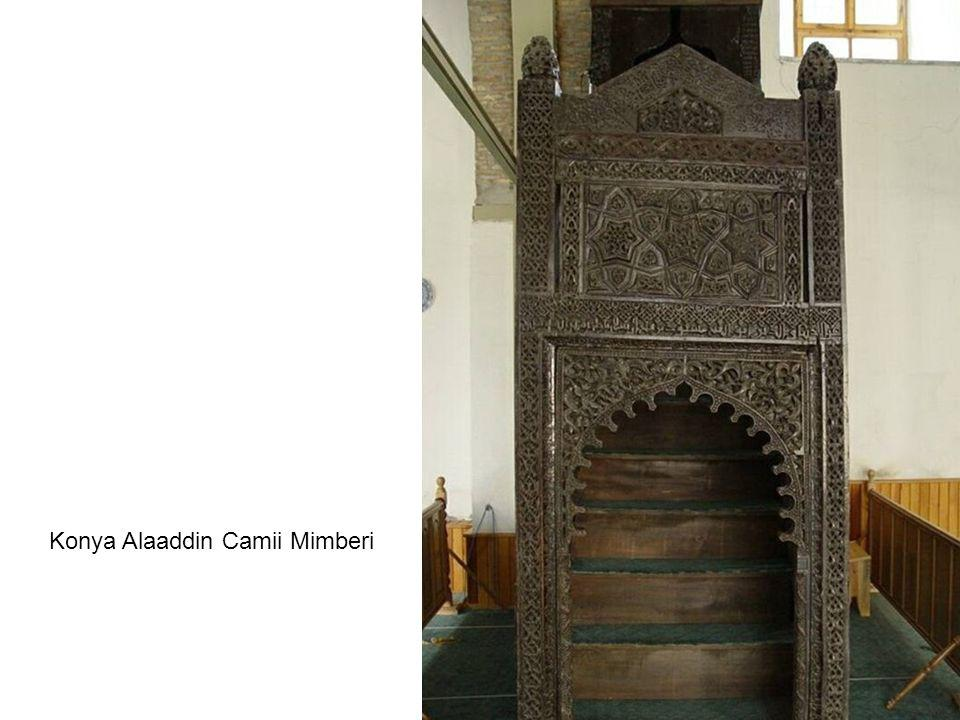 Konya Alaaddin Camii Mimberi