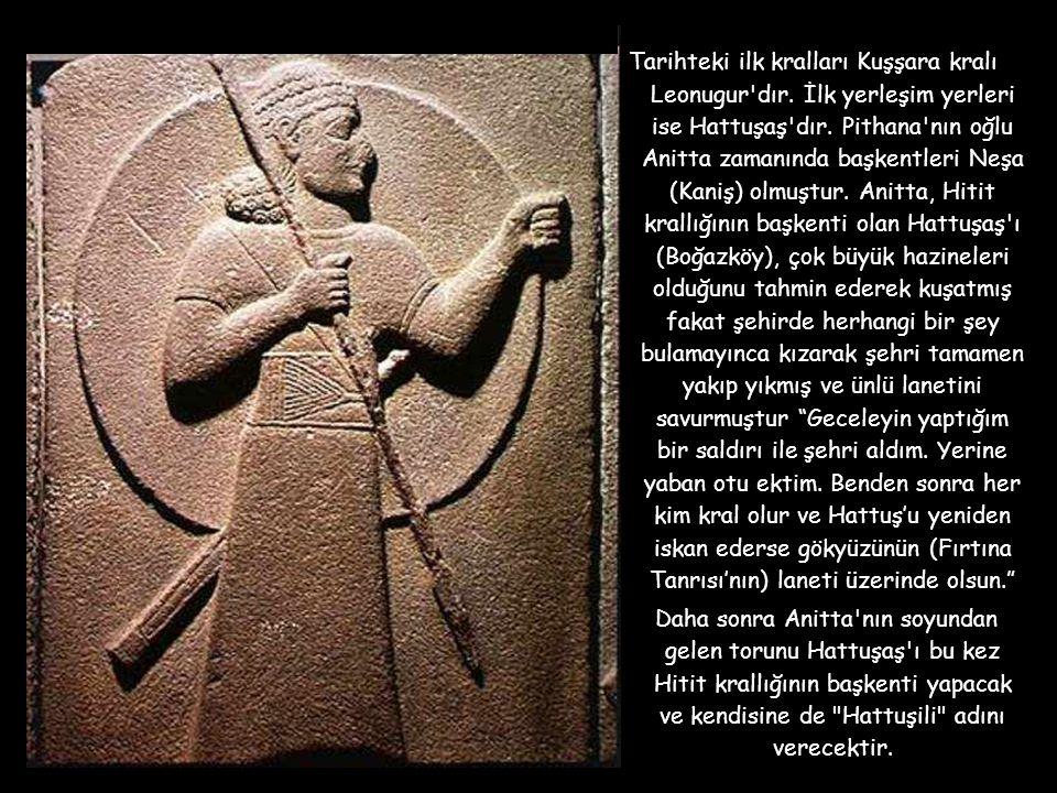 Tarihteki ilk kralları Kuşşara kralı Leonugur dır.