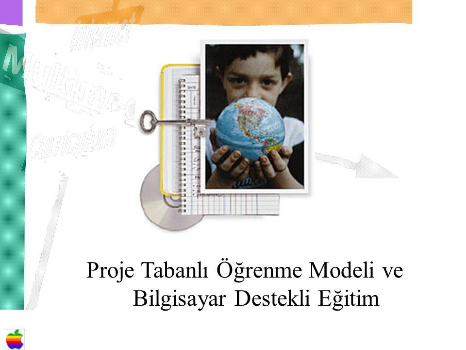 Proje Tabanlı Öğrenme Modeli ve Bilgisayar Destekli Eğitim