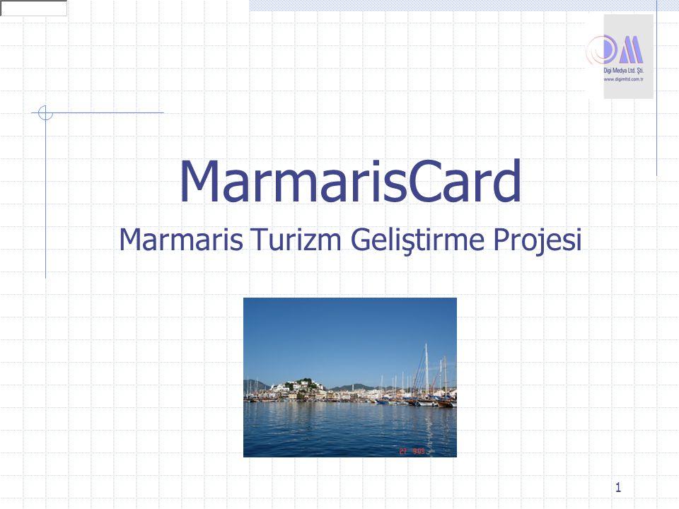 1 MarmarisCard Marmaris Turizm Geliştirme Projesi