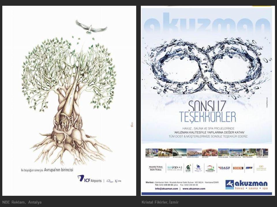 NBE Reklam, Antalya Kristal Fikirler, İzmir