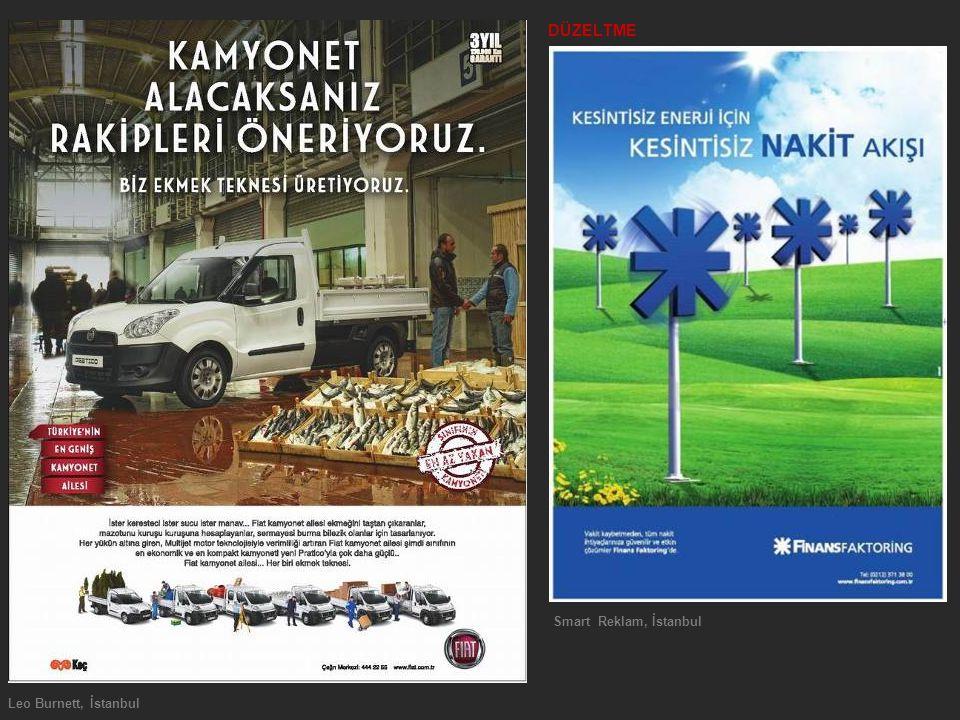 Leo Burnett, İstanbul DÜZELTME Smart Reklam, İstanbul