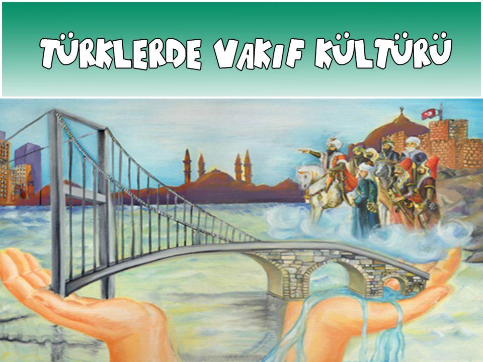 Kırşehir / Aşık Paşa Türbesi İstanbul / Fatih Medresesi İzmir / Kadı Necmeddin Külliyesi İzmir / Birgi D.Hadis Medresesi OSMANLI DÖNEMİ'NDEN KALAN VAKIF ESERLERİ