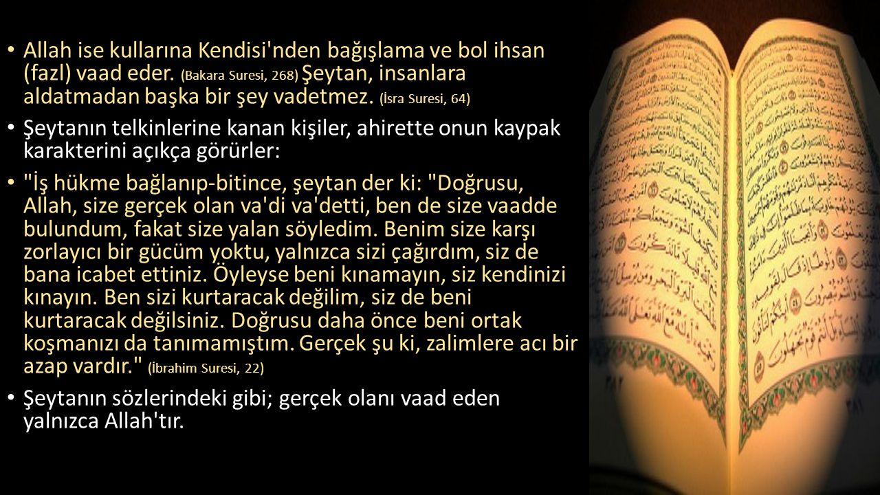 Allah ise kullarına Kendisi nden bağışlama ve bol ihsan (fazl) vaad eder.