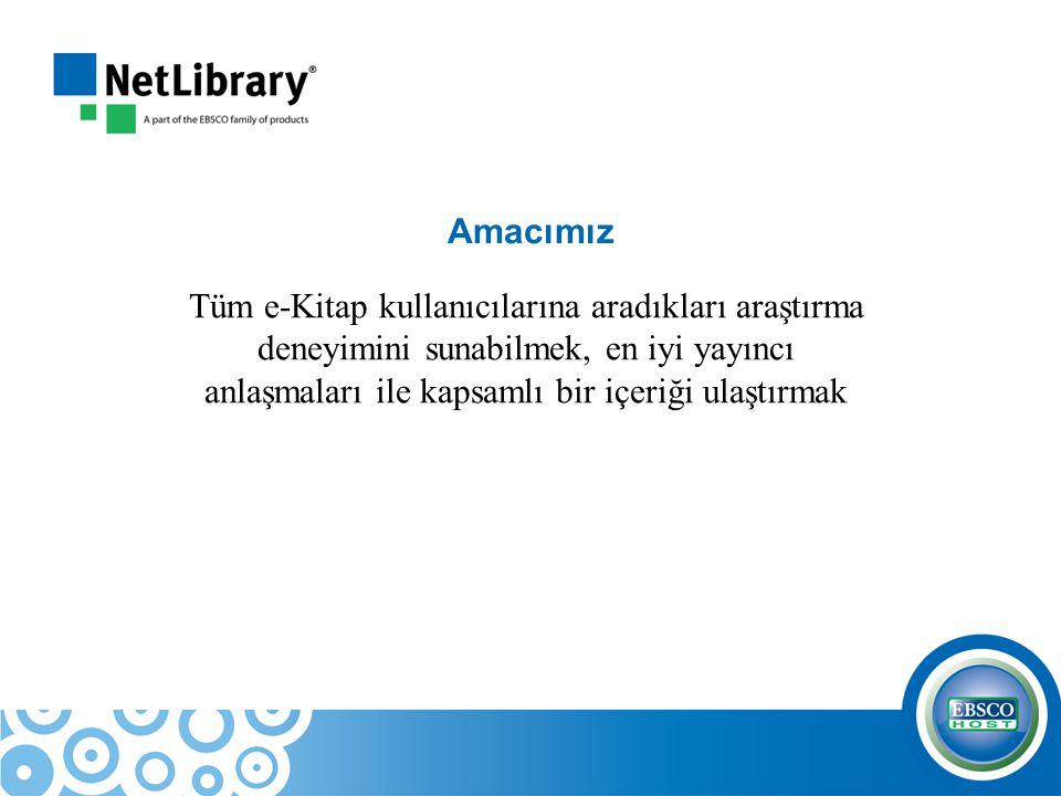E-Kitapları başlık bazında arayabilme…