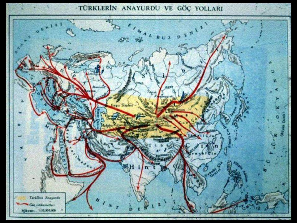 www.evdekisosyalci.com24 TÜRKLER NERELERE GÖÇ ETMİŞLERDİR? Türkler doğu, batı, kuzey ve güney yönlere göç etmişlerdir. Doğuya gidenler Çin ve Mançurya