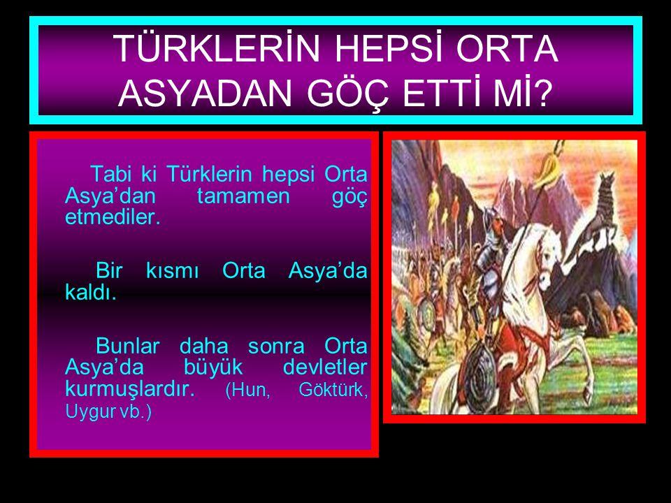 www.evdekisosyalci.com29 ORTA ASYADAN GÖÇLERİN EN ÖNEMLİ SONUCU NEDİR? Özellikle Avrupaya doğru giden Türkler Kavimler göçüne sebep olmuştur. Bu da İl