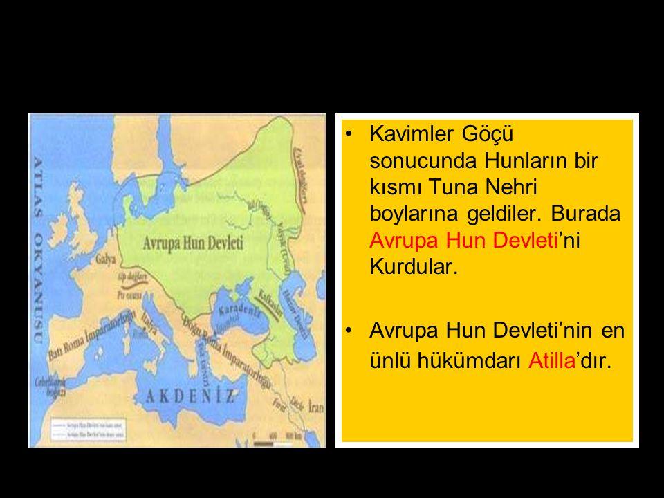 """www.evdekisosyalci.com36 Hunlar Teoman zamanında güçlü bir duruma geldiler. Çin'e akınlar düzenlediler. Çinliler Türk akınlarını önlemek için""""Çin Sedd"""
