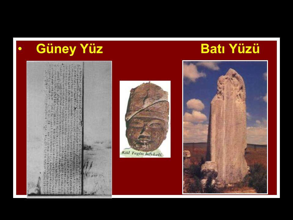 www.evdekisosyalci.com47 Kültegin Kitabesi Bilge Kağan tarafından kardeşi Kül Tigin adına yaptırılmıştır. Kağan olmasında önemli rol oynayan Kül Tigin