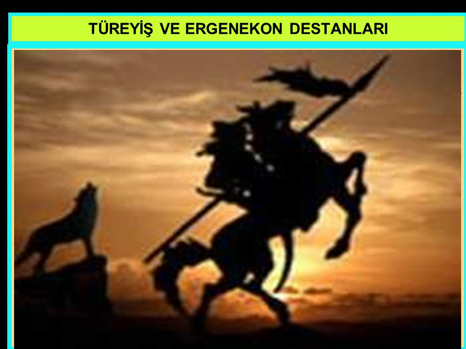 www.evdekisosyalci.com60 TÜREYİŞ VE ERGENEKON DESTANLARI Yeryüzünde olup biten bu işleri Tanrı seyrediyordu. Kendi yaratmış olduğu, bu kutlu ırkın yok