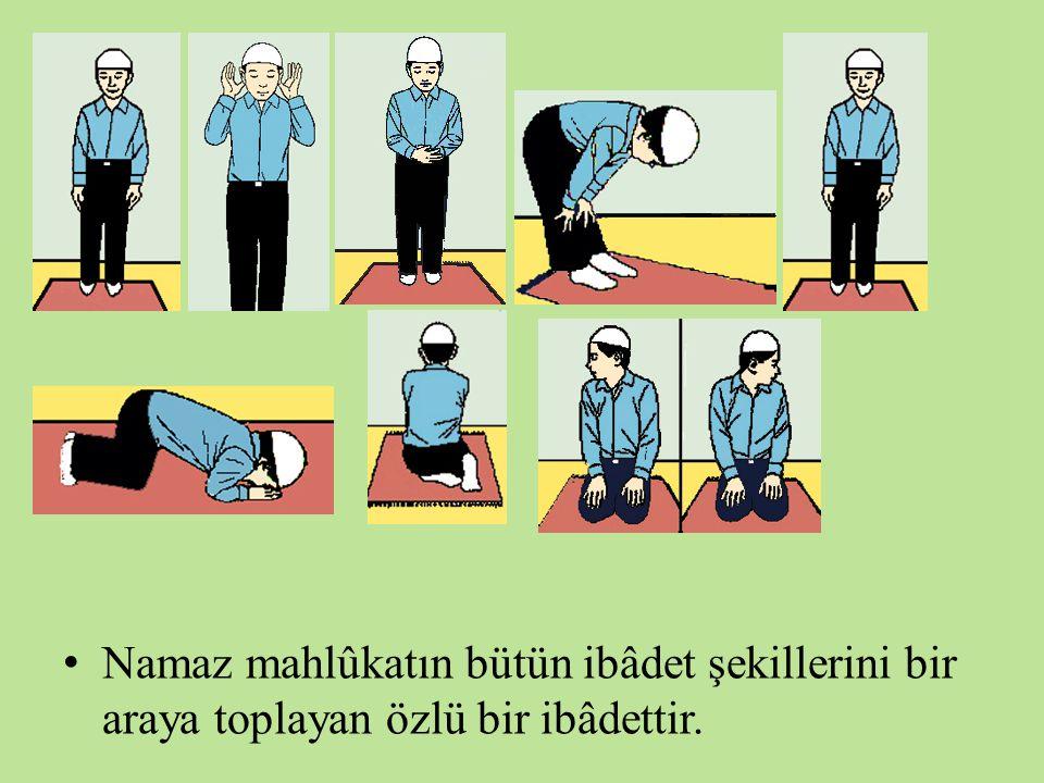 Namaz Dînin Direğidir. (Hadîs-i şerîf) Yani müslüman imanını ve dinini ancak nazla diri tutabilir.