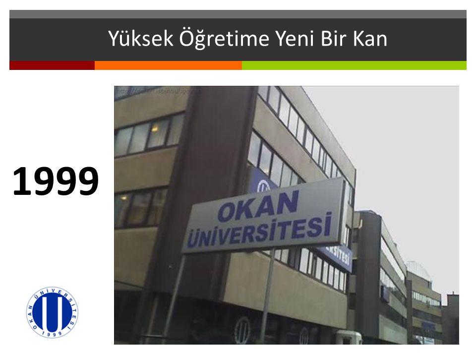 Yüksek Öğretime Yeni Bir Kan 1999