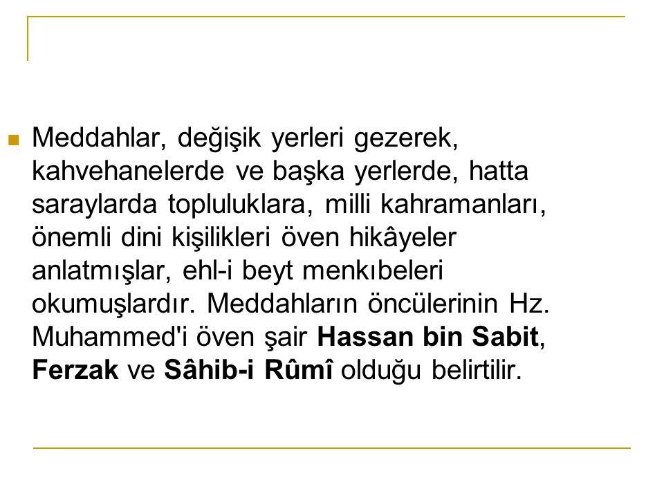 Kaynaklar 1.Şükrü ELÇİN,Halk Edebiyatına Giriş,KTB Yay.