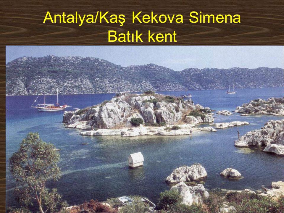 www.yunusemrecosan.com Antalya/Kaş Kekova Simena Batık kent