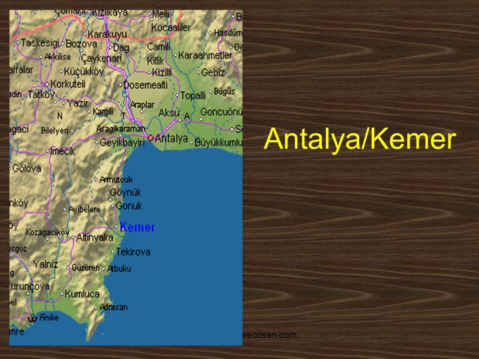 www.yunusemrecosan.com Antalya/Kemer
