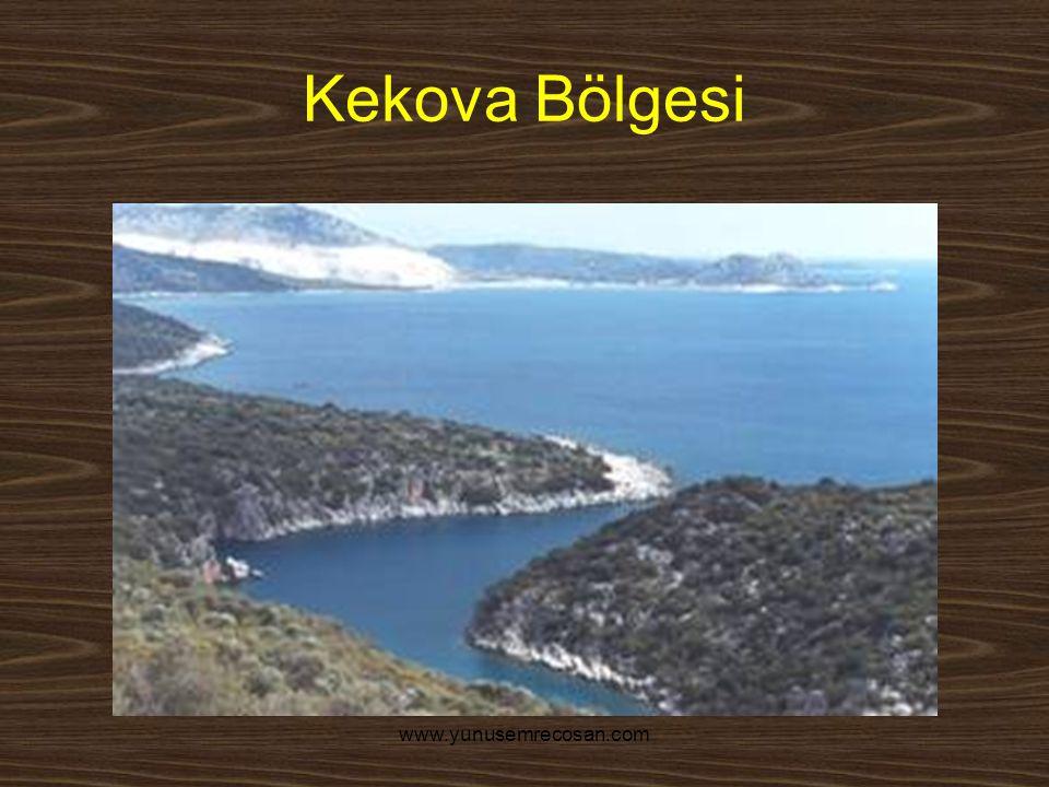 www.yunusemrecosan.com Kekova Bölgesi