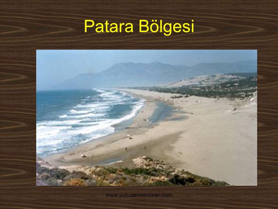 www.yunusemrecosan.com Patara Bölgesi