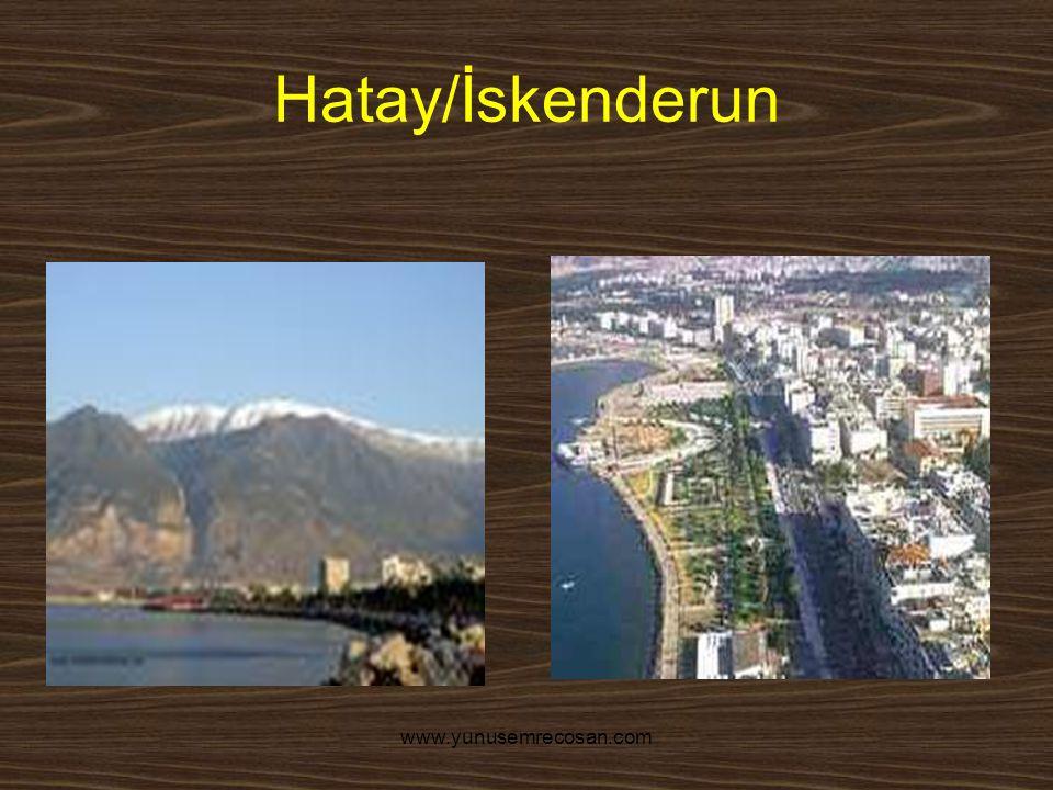 www.yunusemrecosan.com Hatay/İskenderun