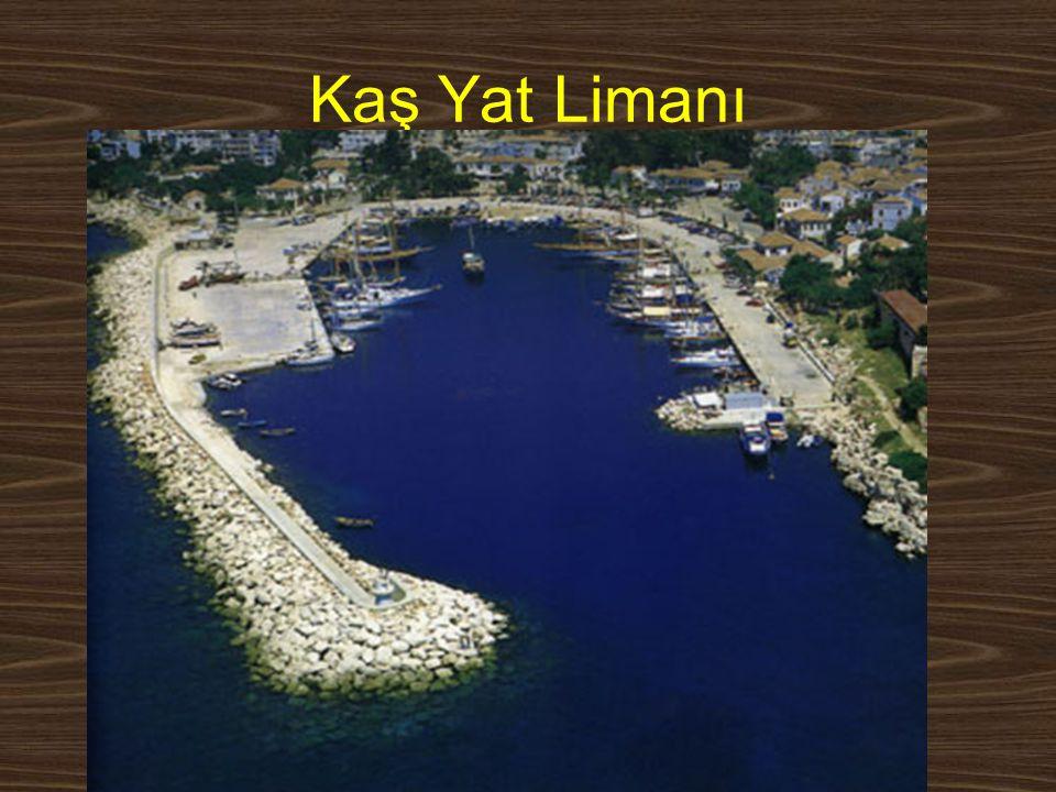 www.yunusemrecosan.com Kaş Yat Limanı