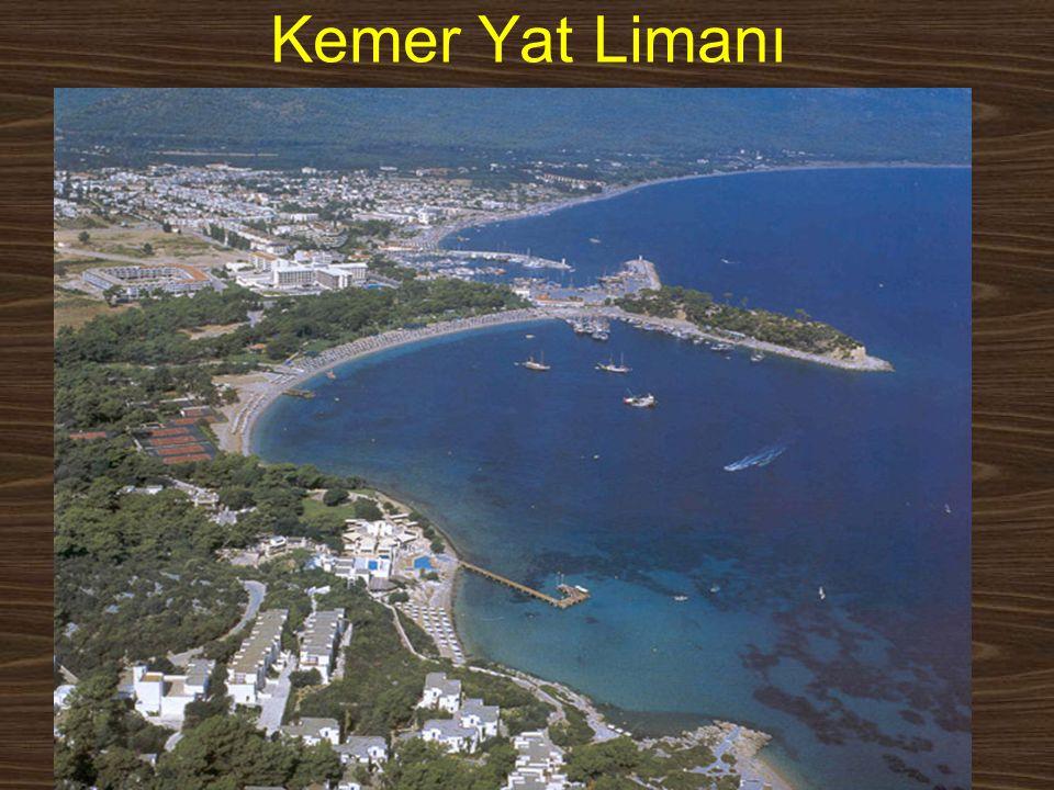 www.yunusemrecosan.com Kemer Yat Limanı