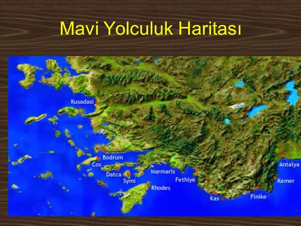 www.yunusemrecosan.com Mavi Yolculuk Haritası