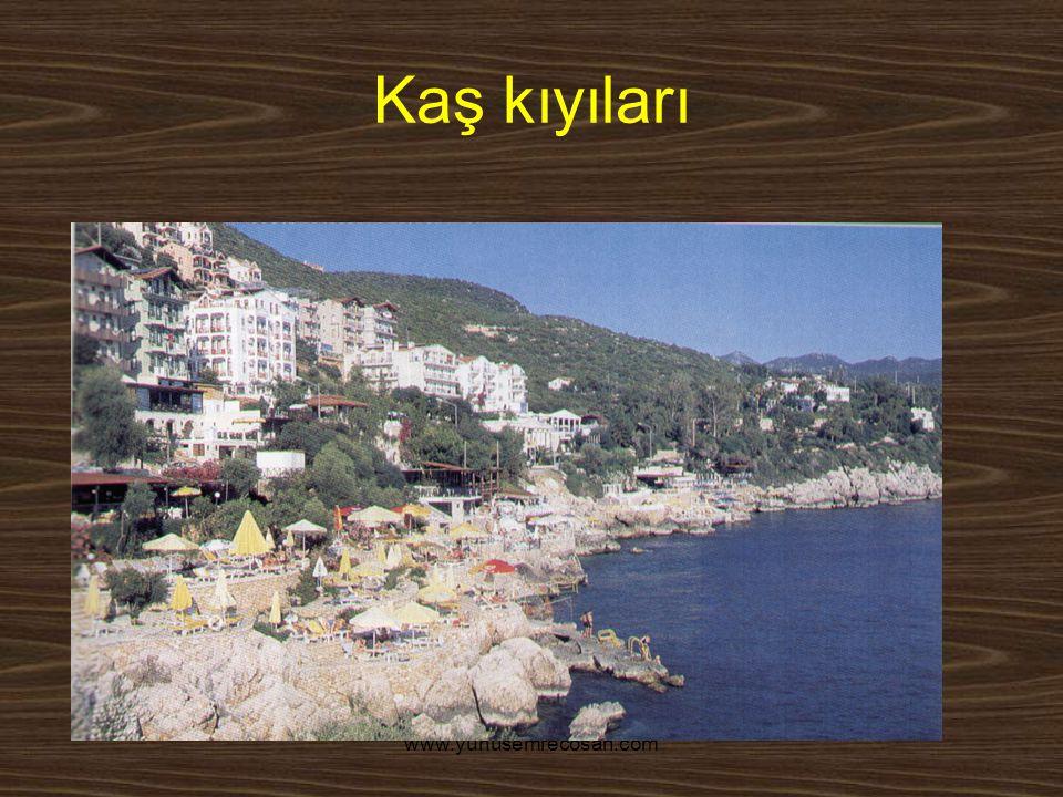 www.yunusemrecosan.com Kaş kıyıları