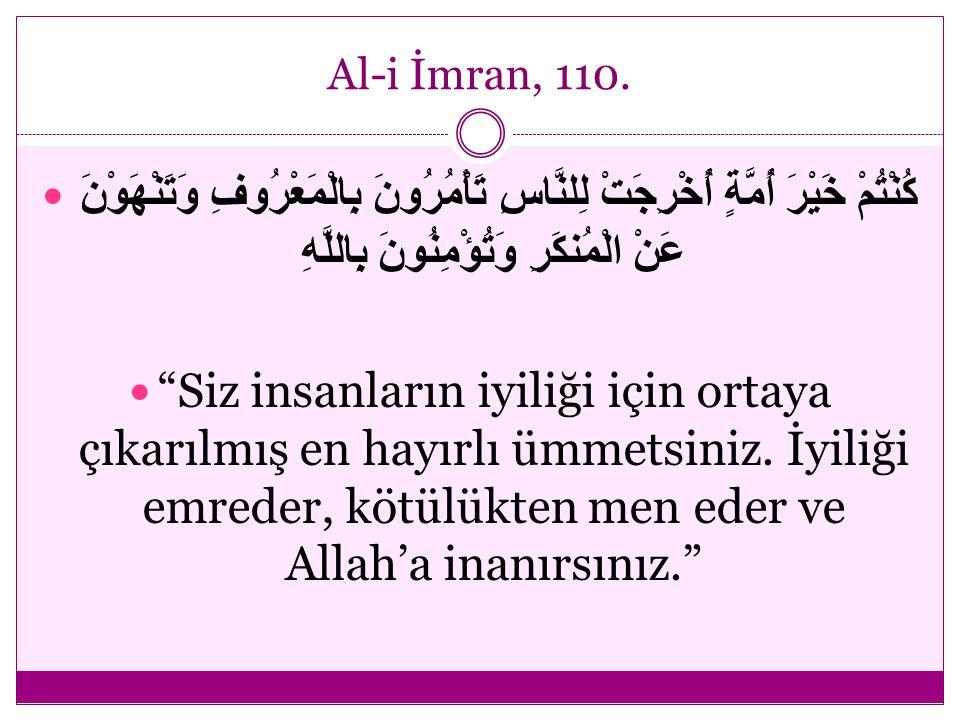 Al-i İmran, 104.