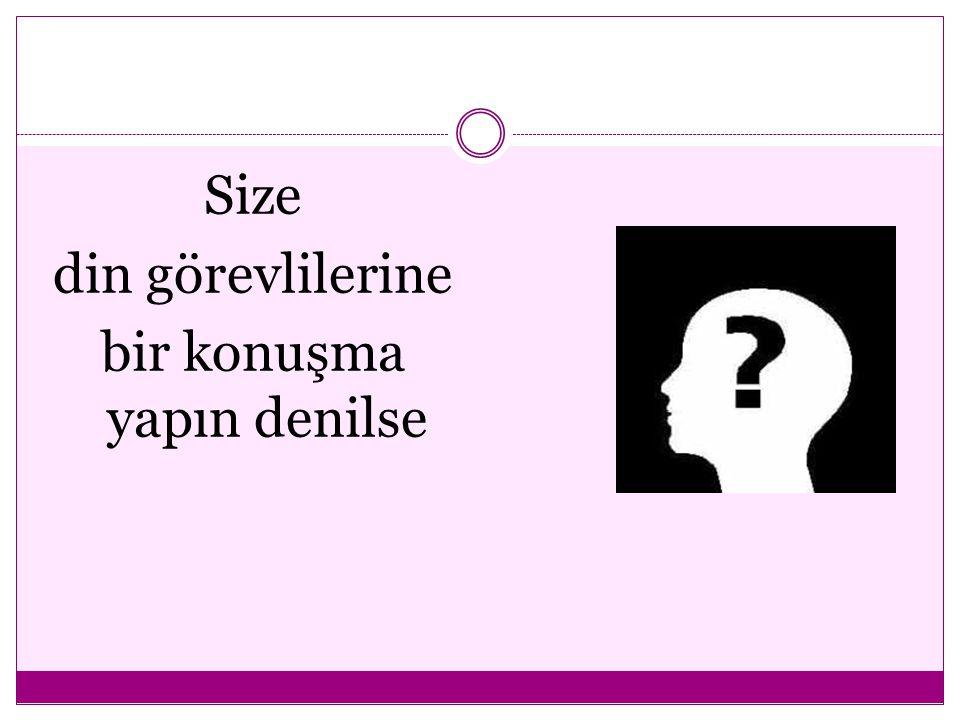 Prof.Dr. Mehmet Zeki AYDIN LİDER DİN GÖREVLİSİ