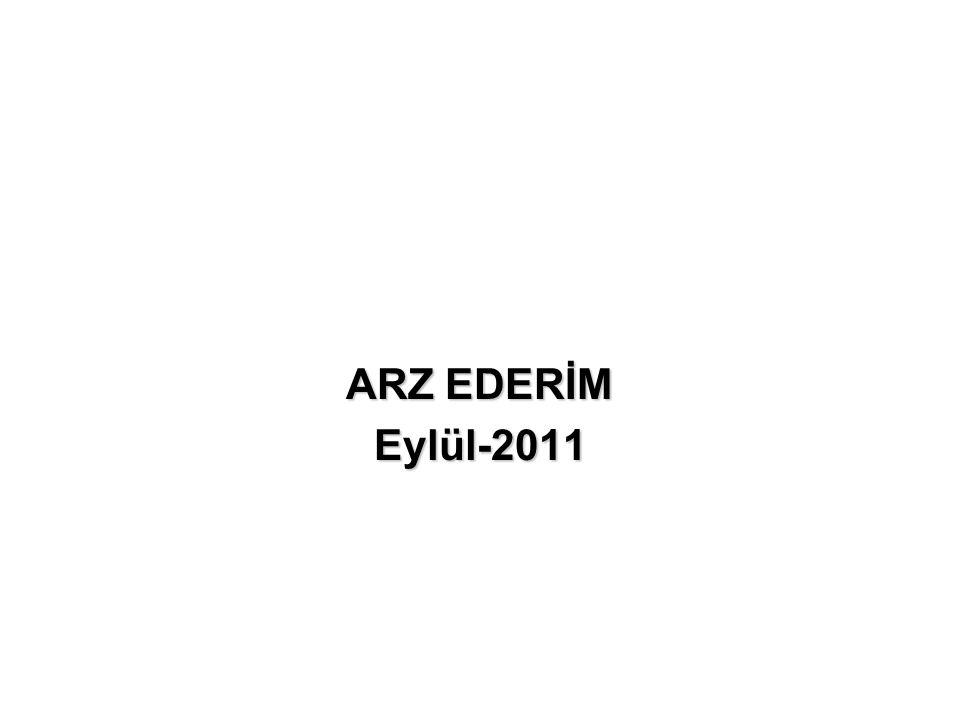 ARZ EDERİM Eylül-2011