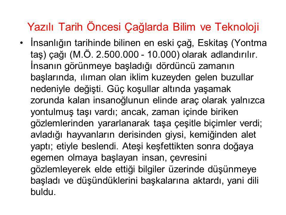 Anadolu'da Bilim Coğrafi konumu çeşitli bölgelerle formülleri vermişlerdir.